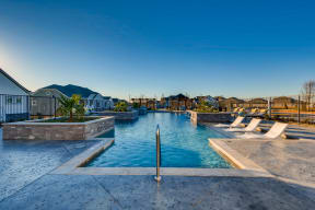 Resort Inspired Pool with Sundeck at Avilla Reserve, Justin, 76247