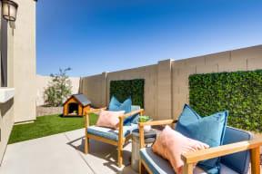 Private Backyards at Avilla Enclave, Mesa, Arizona