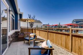 Private Backyards at Avilla Buffalo Run, Commerce City, CO