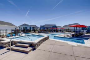 Pool And Spa at Avilla Buffalo Run, Commerce City