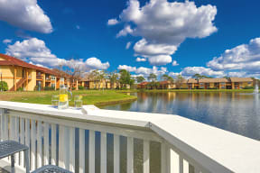 Avisa Lakes Apartments in orlando lake view