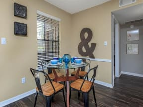 anatole apartment homes daytona beach apartments for rent dining area