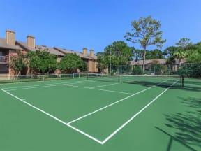 anatole apartments tennis court