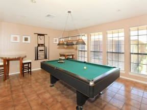 clubhouse billiards table