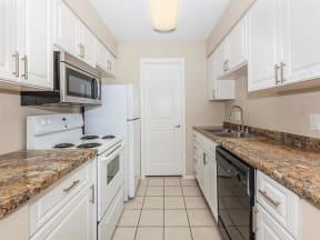 pendelton park apartments orlando model unit A kitchen