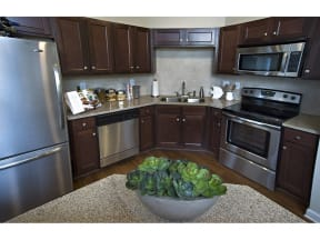 Chef-Inspired Kitchens Feature Stainless Steel Appliances at The Residence at Marina Bay, Irmo, SC