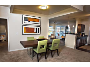 Dining Area at The Residence at Marina Bay, Irmo, South Carolina