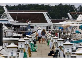 Ships and Dockyard at The Residence at Marina Bay, Irmo, South Carolina
