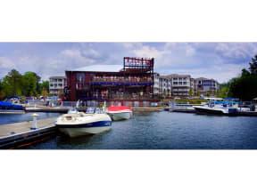Ships And A Restaurant  at The Residence at Marina Bay, Irmo, SC