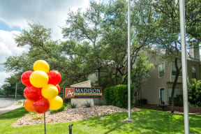 Entrance to community | Madison at the Arboretum