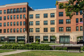 Community exterior | The Merc at Moody and Main