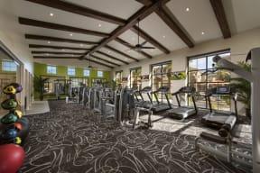 Cardio Machines In Gym  Villas at San Dorado