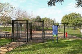 Dog park   The Park at Walnut Creek