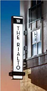 Live above restaurants and shops! |Rialto