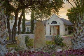Entrance to leasing office | Cypress Gardens