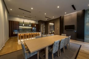 Catering kitchen and function room