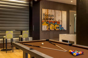 Game room | The Merc at Moody and Main
