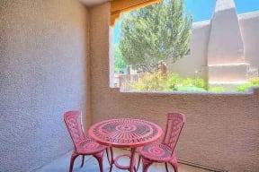 Private patio   Vizcaya