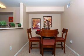 Dining room | Monterey Ranch