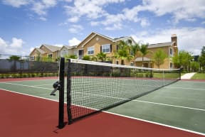 Tennis court  | Estates at Heathbrook