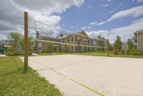 Sand volleyball court  | Estates at Heathbrook
