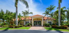 Entrance to leasing office    Bay Breeze Villas