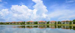 Serene lake views    Bay Breeze Villas