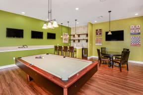 Game room    Bay Breeze Villas