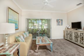 Living room    Bay Breeze Villas