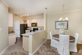 Kitchen and dining room    Bay Breeze Villas