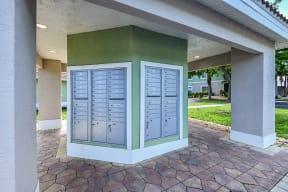 Resident Mailboxes   Bay Breeze Villas
