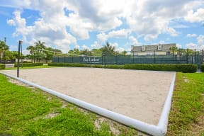 Sand volleyball court  | Bay Harbor