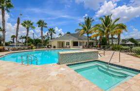 Community pool and hot tub  | Bay Harbor
