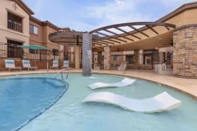 Resort style swimming pool | Canyons at Linda Vista Trail