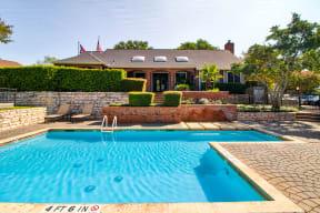 Channings Mark apartments   community pool