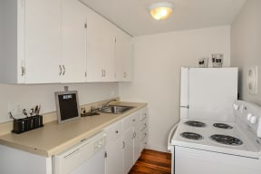 Kitchen with Electric Appliancevs