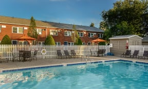 Apartment community with Pool