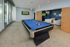 Clubhouse with billiards | Element
