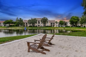 Apartments with water views  | Cypress Legends