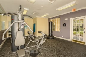 Fitness center | Cypress Shores