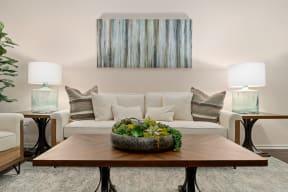 Modern Living Room| Lodge at Lakeline Village