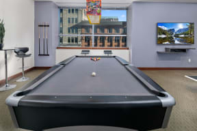 Game room with billiards| Hartford 21