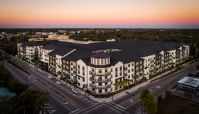 Aerial view  | District at Rosemary