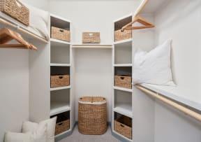 Spacious closet storage  | District at Rosemary