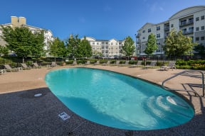 Centrally located community pool    Endicott Green