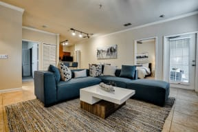 Living room | Estates at Heathbrook