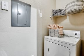 In-home laundry  | Estates at Heathbrook