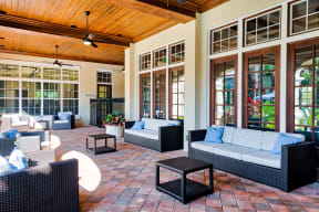 Outdoor patio  | Estates at Heathbrook