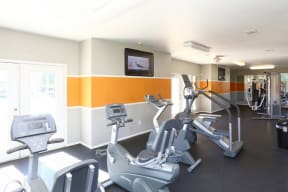 Fitness center with cardio equipment  | Cypress Gardens