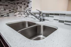 Stainless steel sink | Gateway Club